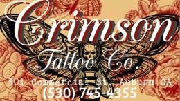 Crimson Tattoo Co. Logo