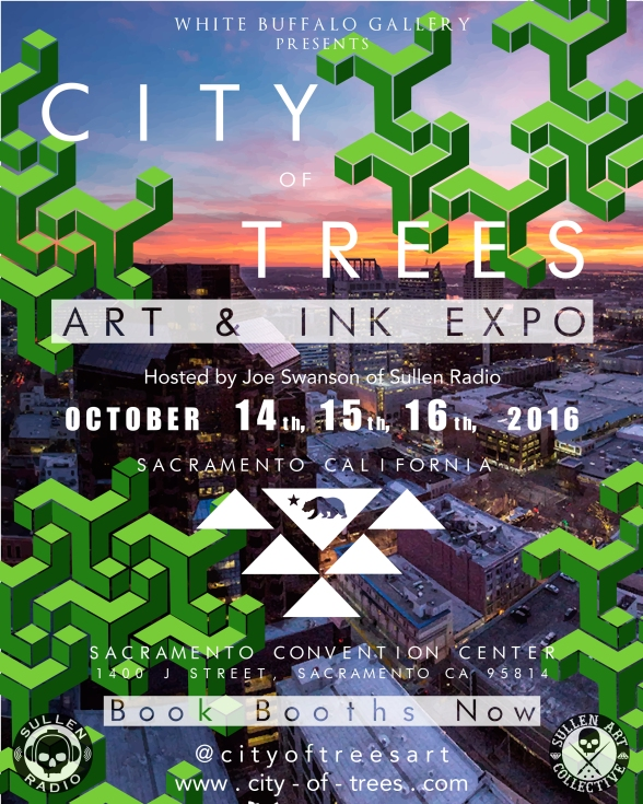 City of Trees Poster